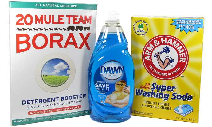 Homemade Laundry Detergent With Borax And Dawn