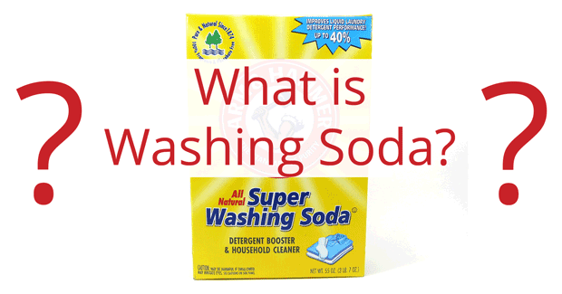 What is washing soda?