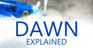 Dawn dish-washing detergent explained