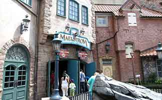 Maelstrom ride at Disney Epcot